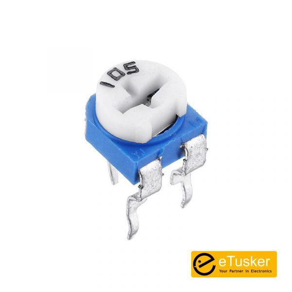Etusker.com 1M Ohm 20% (0.2W) Cermet Preset - THR