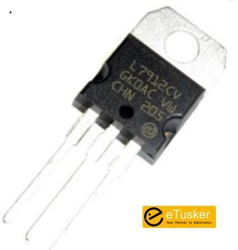 Etusker.com LM7912 -12V -1A Regultor (TO-220) - THR