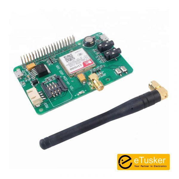 Raspberry PI SIM800 GSM GPRS Add-on V2.5