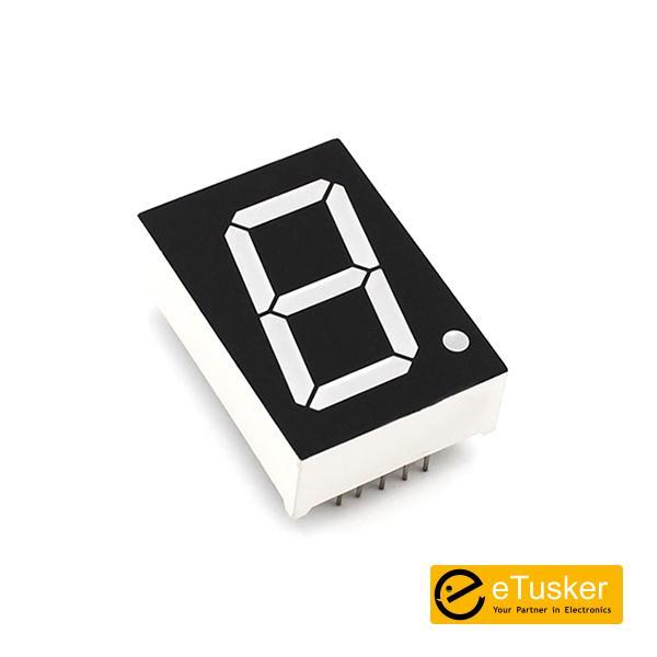 LED Seven Segment (4.1cmx2.9cm) C/C Red - THR