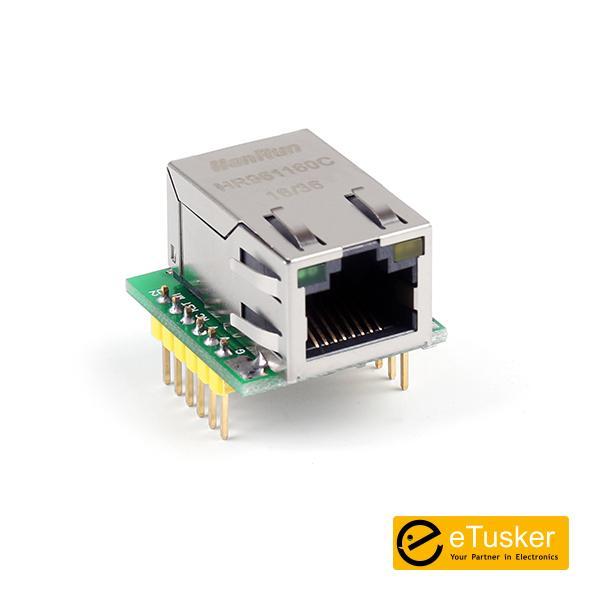W5500 SPI to LAN/ Ethernet Converter TCP/IP Module HR961160C USR-ES1