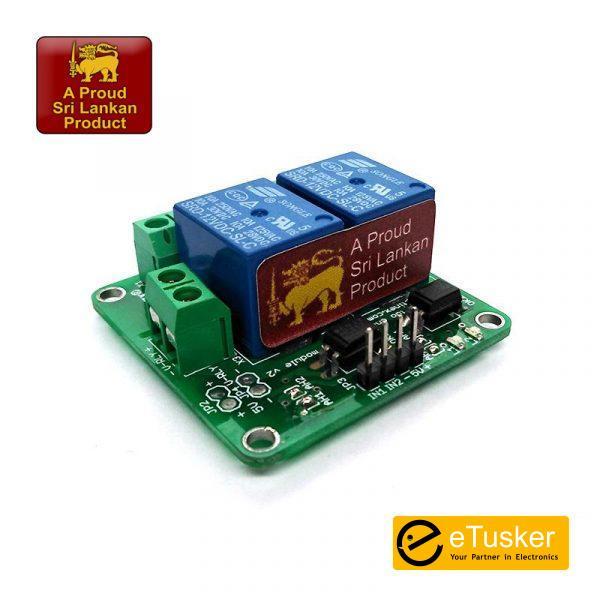 Aptinex Dual Channel Relay Module 12V 10A (2 channel)