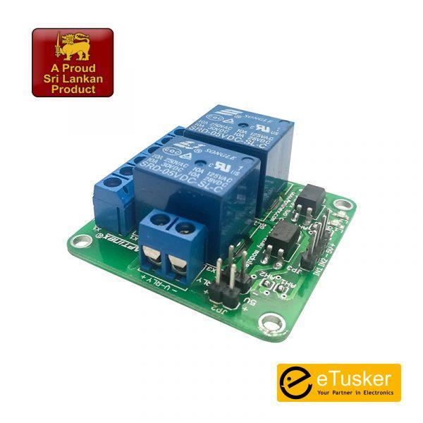 Aptinex Dual Channel Relay Module 5V 10A (2 Channel)