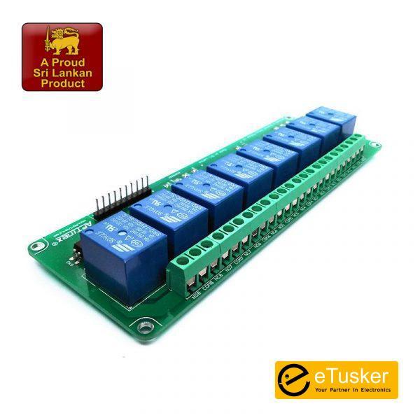 Aptinex Eight Channel 12VDC 10A Relay Module v2