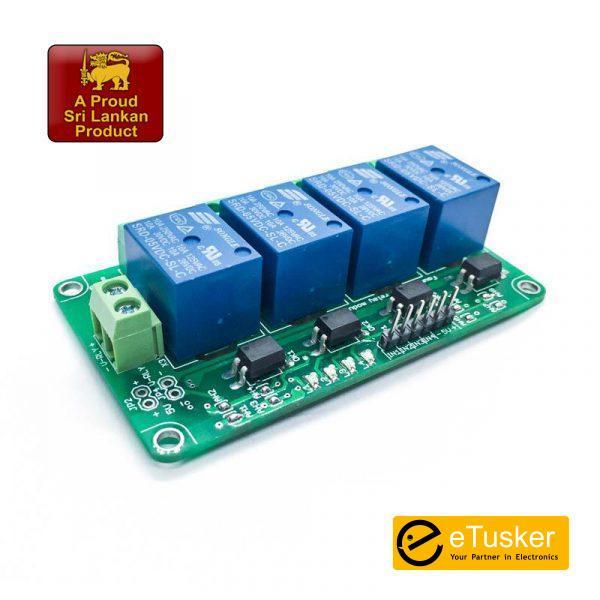 Aptinex Four Channel Relay Module 5V 10A (4 channel)