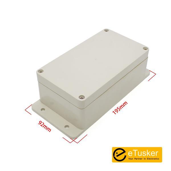 Waterproof Plastic Enclosure (195x92x61mm) (Szomk AK-B-12) IP65